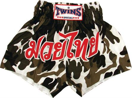 Twins Thai Style Trunks Artic Camo